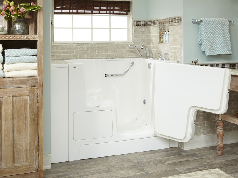 Bathe In Superior Comfort And Leisure With A Walk In Tub Bath Makeover Of Arkansas